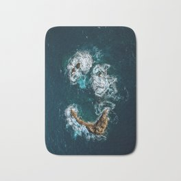 Sea Smile - Ocean Photography Bath Mat