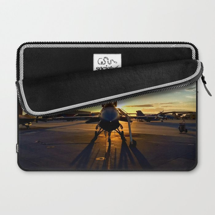 Viper at Sunset Laptop Sleeve