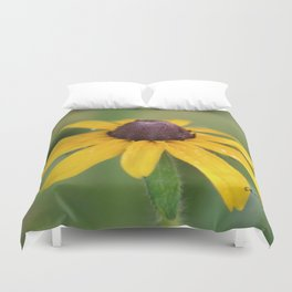 Yellow Daisy Flower Duvet Cover
