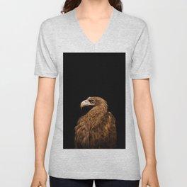 Aquila chrysaetos Golden eagle Unisex V-Neck