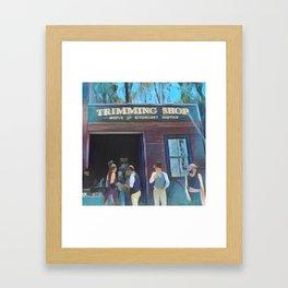 Time Travellers 1 Framed Art Print