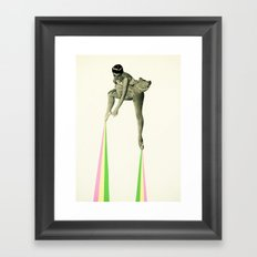 Ballet Moves Framed Art Print