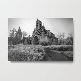 Infrared world - Budapest, Hungary Metal Print