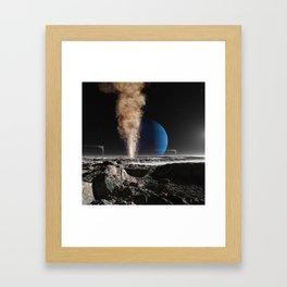 Geyser on Triton Framed Art Print