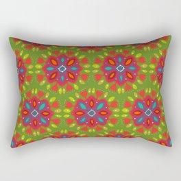 FLOR XL green Rectangular Pillow