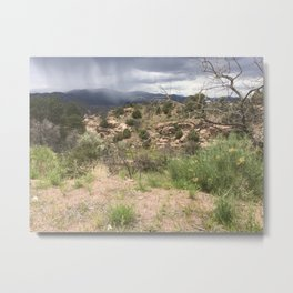 Rocky Mountain Storm Metal Print