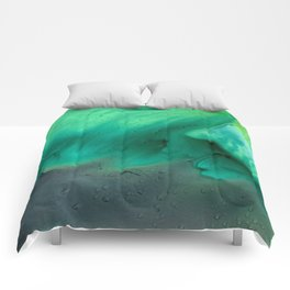 Teal Storm Comforters