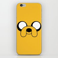 jake iPhone & iPod Skins featuring Jake by Shane Harris