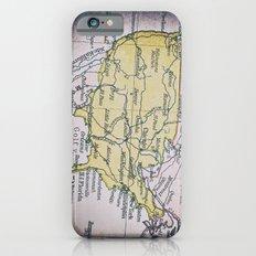 Map of America iPhone 6s Slim Case