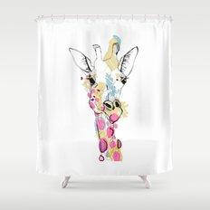 G-raff colour Shower Curtain
