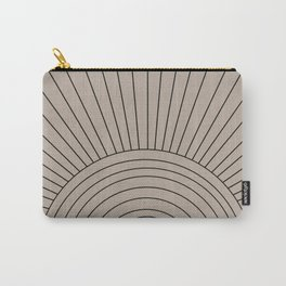 Boho Minimalistic Art Carry-All Pouch