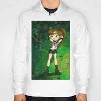 sailor jupiter Hoodies featuring Sailor Jupiter by Thedustyphoenix