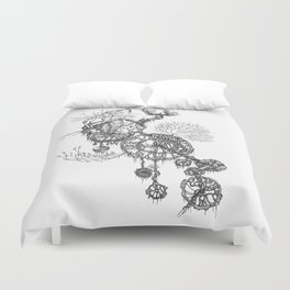 Steampunk home Duvet Cover