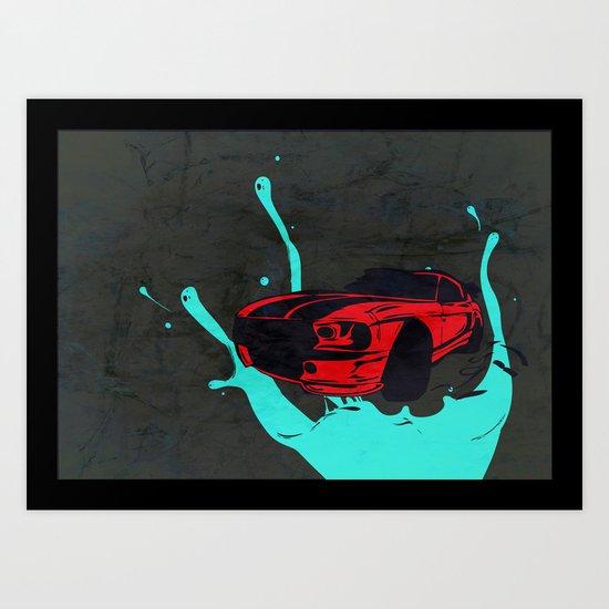 new Car ?? Art Print