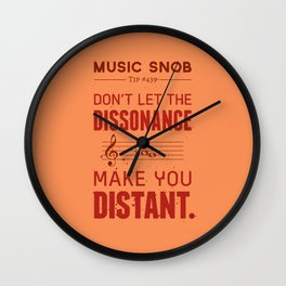 Spooky Scary Dissonance! — Music Snob Tip #439.5 Wall Clock