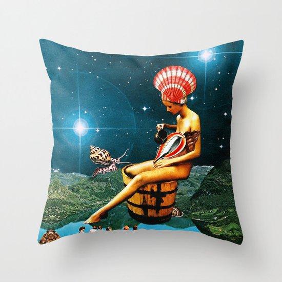 Amphitrite Throw Pillow