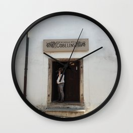 Cesky Krumlov daily Wall Clock