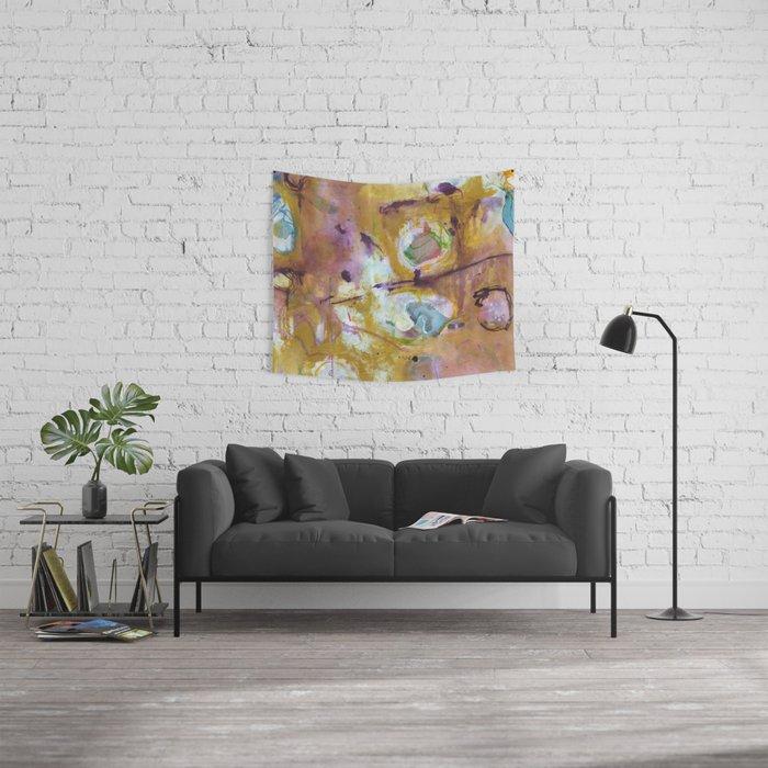 Mustard Wall Tapestry