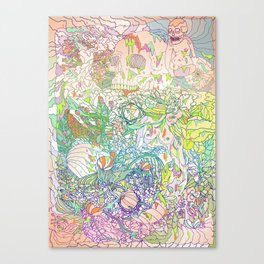 This Sea of Love Canvas Print