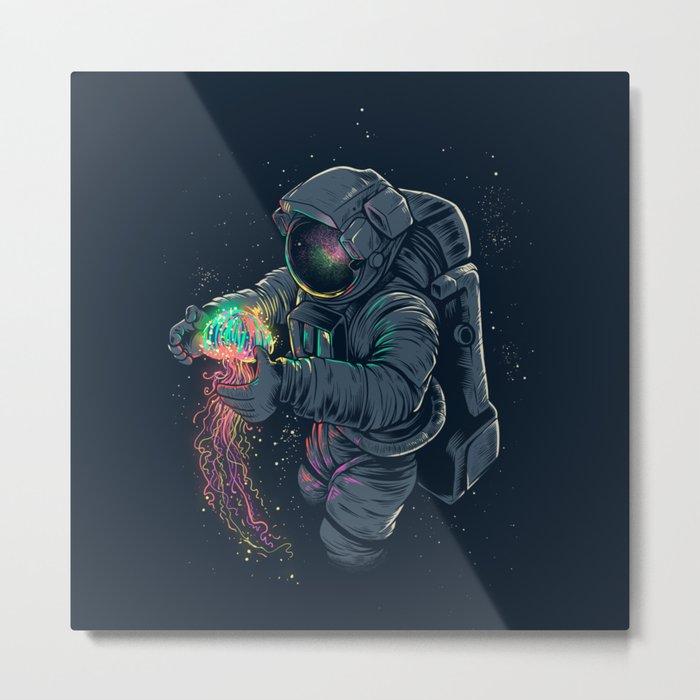 Jellyspace Metal Print
