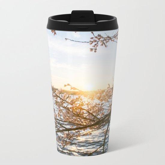 Sun Over the Horizon Metal Travel Mug
