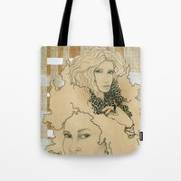 wild things Tote Bags featuring Wild Things by SuburbanSavage