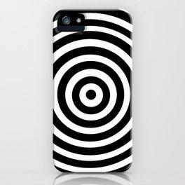 Circle Illusion iPhone Case