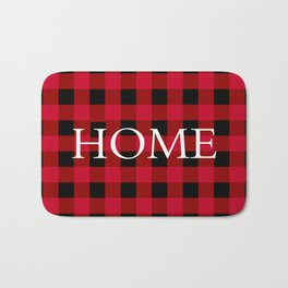 Home Red Buffalo Check Bath Mat