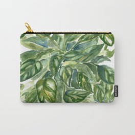 Layered Pothos Boho Plant Carry-All Pouch