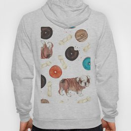 Bulldogs and donuts Hoody