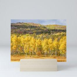 An Autumn Day Mini Art Print