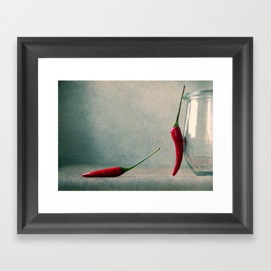 oooo baby...i love yooou sooo  Framed Art Print