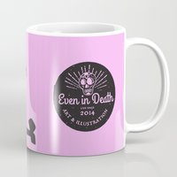 punk rock Mugs featuring Punk Rock Never Dies by Even In Death