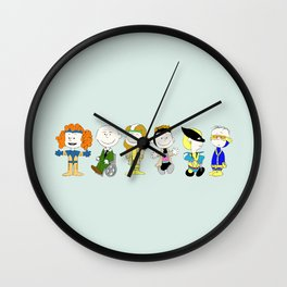 Mutant Superhero Friends Wall Clock