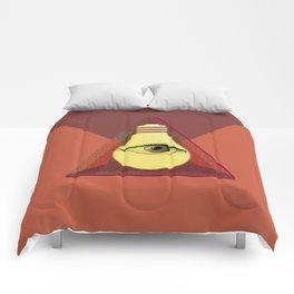 """Illuminati"" bulb Comforters"