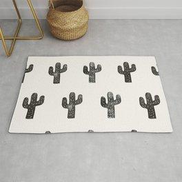 Stamped Cactus Rug