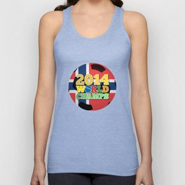 2014 World Champs Ball - Norway Unisex Tank Top