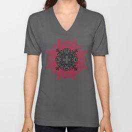 Mandala. Unisex V-Neck