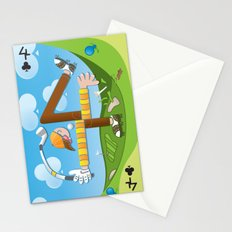 Fore of Clubs Stationery Cards