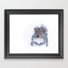 Portrait of a Nutcase Framed Art Print