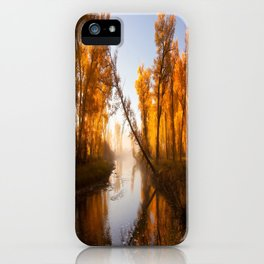 Golden River iPhone Case
