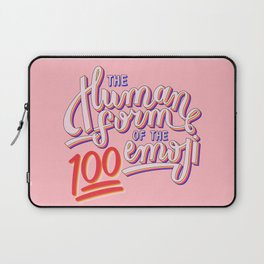 100 Emoji Laptop Sleeve