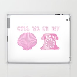 KG Beauty Call Me On My Shell Phone Laptop & iPad Skin