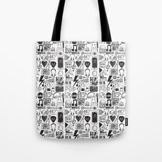 Music Doodles Tote Bag