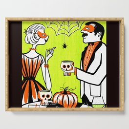 The Swankiest Halloween Party Serving Tray