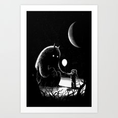 The Guest Art Print