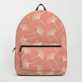Pink Ginkgo Backpack