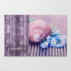 COUNTRY LIVE Canvas Print