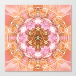 Flower of Life Mandalas 18 Canvas Print