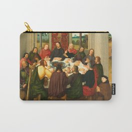 The Last Supper - 15th Century Painting Carry-All Pouch